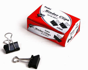 Good Quality Black Binder Clips pictures & photos