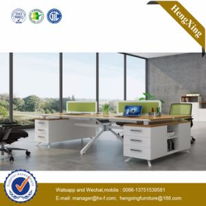 Modern Office Desk Metal Leg Office Furniture (UL-NM105) pictures & photos