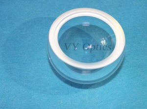 Optical Fused Silica Hyper Hemispherical Dome Lens pictures & photos