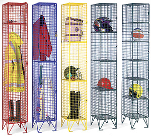 Wire Mesh Locker Unit for Workers pictures & photos