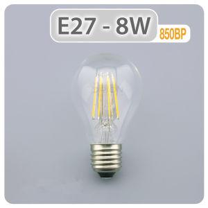 LED Lighting Lamp 4W 6W 8W LED Light E27 B22 LED Bulb A60 LED Filament Bulb pictures & photos