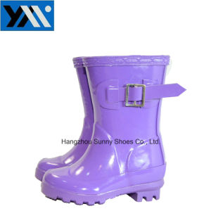 Horse Riding Rain Boots for Children pictures & photos