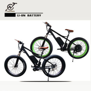 Rechargeable 26′ *4 Fat Tyre Bike/ Suspension Snow Ebike 1000W pictures & photos