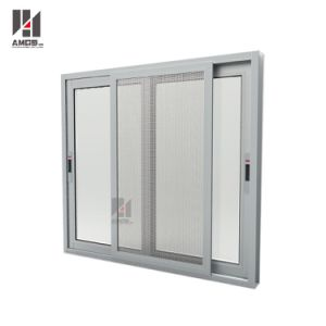 Competitive Price Aluminum Sliding Window with Single or Double Glazaing pictures & photos