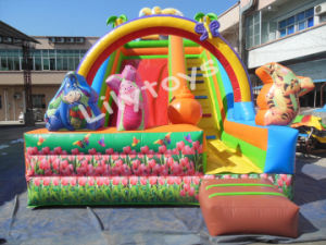 Lilytoys Best Selling Europe Big Inflatable Bouncer Slide for Children pictures & photos