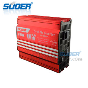 Suoer 24V 220V 600W MPPT Grid Tie Power Inverter (GTI-D600B) pictures & photos