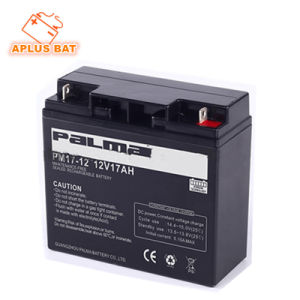 Deep Cycle UPS Solar Batteries 12V17ah for Emergency Power Supply pictures & photos