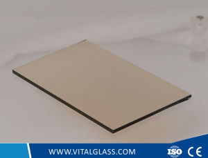 3-12mm One Sided Euro Bronze Reflective Glass for Building Glass pictures & photos