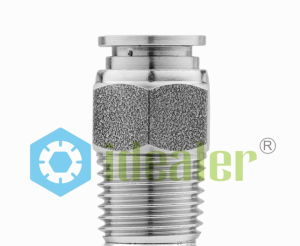 Push to Connect Stainless Steel Fitting with Japan Technology (SSPC12-02) pictures & photos