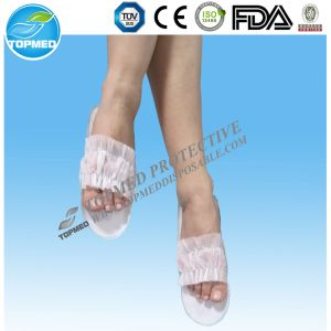 Disposable Hotel Slippers, EVA Sole Medical Slippers pictures & photos