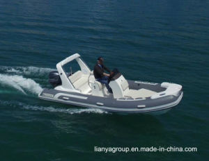 Liya 5.2m Rigid Inflatable Boat Sport Rib Boat Hypalon pictures & photos