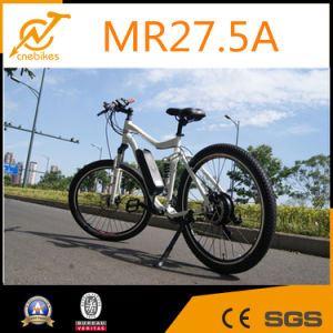 Full Suspension Electric Mountain Bike Electric Racing Bike pictures & photos