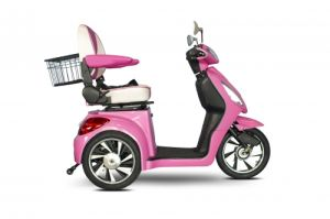 Electric Disabled Tricycle for Old People and Handicapped Person with Basket pictures & photos
