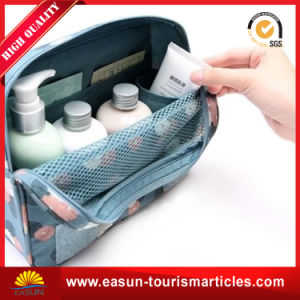 Personalized Clear Nylon Cosmetic Bag Sets pictures & photos