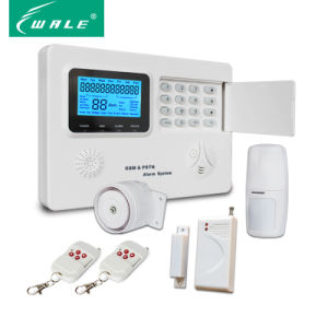 Voice Prompt Intelligent GSM PSTN Wireless Burglar Alarm pictures & photos