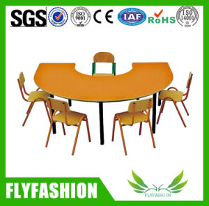 Wooden Furniture Flower Shaped Kids Table for Sale (KS-48) pictures & photos