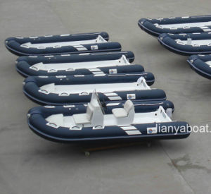 Liya 2.4-5.2m Fiberglass Boat Rib Boat with Outboard Motor China pictures & photos