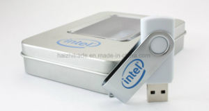Promotional Idea Swivel USB Memory Stick U Disk with Logo pictures & photos
