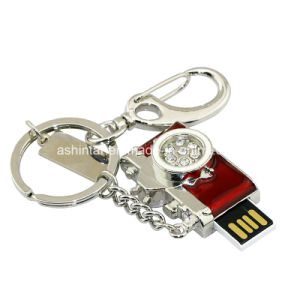 Mini Metal USB Flash Disk Jewelry Camera USB Pendrive pictures & photos