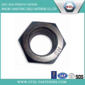 Black Heavy Hex Nuts pictures & photos