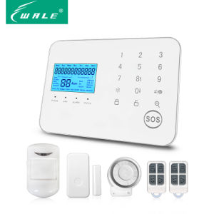 GSM PSTN Alarm for Home Wireless Security Burglar Safety pictures & photos
