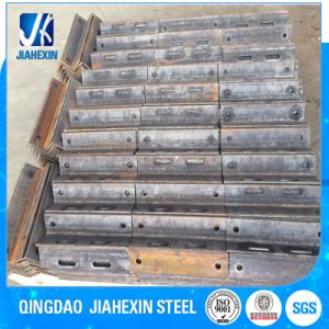 Galvanized Fabricated Steel Angle Bracket with Drill Holes pictures & photos