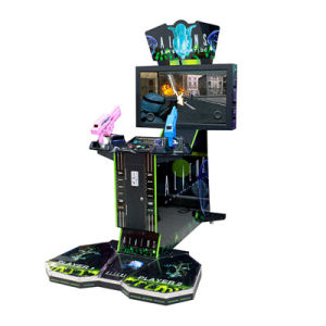 2 Players Simulator Shooting Arcade 42 LCD Aliens Extermination Game Machine pictures & photos