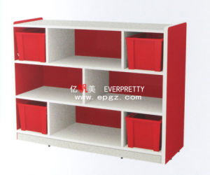Cute Design Children Wood Toy Storage Cabinet Used Nursery Furniture for Sale (SF-13W) pictures & photos