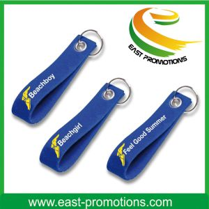 Custom Logo Wool Felt Embroidery Keychains for Promotional pictures & photos