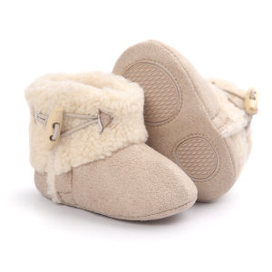 Winter Baby Boots, Warm Infant Newborn Snow Boots Crib Shoes Prewalker Boy Girl pictures & photos