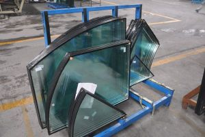 Curved Insulated Glass for Curtain Wall pictures & photos