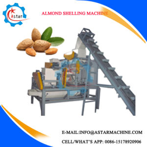 1-2t/H Nuts Hard Shell Remove Machine/ Nuts Shelling Machine pictures & photos