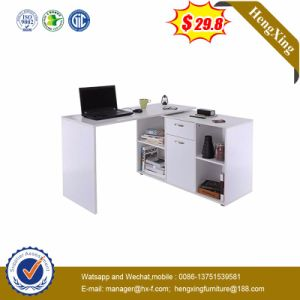 Modern L Shape Wooden Office School Writing Laptop Computer Desk pictures & photos