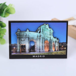 Wholesale Custom 3D Unique Shaped Souvenir Wooden Fridge Magnet pictures & photos