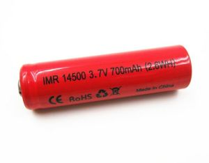 E-Cig Battery Imr14500p 3.7V 700mAh High Rate 16c pictures & photos