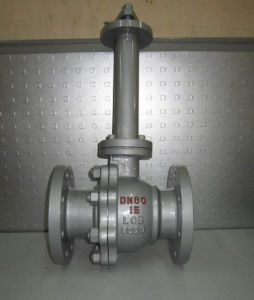 Stainless Steel Low Temperature Flange Ball Valve pictures & photos