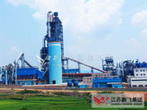 New Type Dry Process Cement Rotary Kiln Production Line pictures & photos