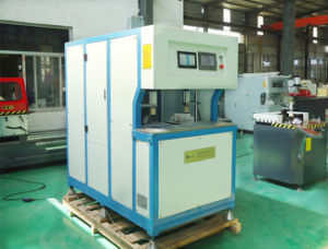 PVC UPVC Door and Windows Making Machine with Double Head Welding pictures & photos