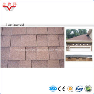 Laminated Type Colorful Asphalt Shingle /Double Layer Asphalt Shingle pictures & photos