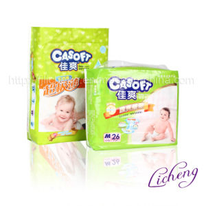 Good Quality and Disposable Baby Diaper with FDA