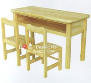Solid Wood Kids Table&Chair pictures & photos