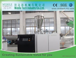 Single Screw Extruder PE/HDPE PPR/PVC Pipe Extrusion Production Line pictures & photos