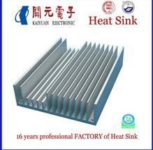 Aluminum Powder Coating Heat Sink with SGS pictures & photos