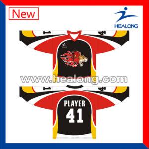 Healong Custom Fully Dye Sublimation Ice Hockey Shirt pictures & photos