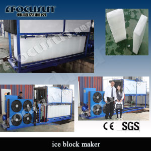 Focusun Food-Grade Direct System Block Ice Machine (FIB-100D) pictures & photos