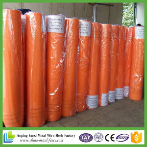 Alkali-Resistant Orange Urea Formaldehyde Glue Fiberglass Mesh for Exterior Wall pictures & photos