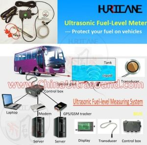 Ultrasonic Diesel Fuel Tank Level Gauge/Indicator with Temperature Sensor
