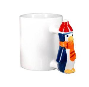 Animal Ceramic Mug-Penguin