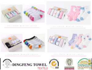 New Fashionable Knitted Children Socks Df-8842 pictures & photos