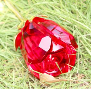 Crystal Glass Crafts Crystal Valentine′s Gifts pictures & photos